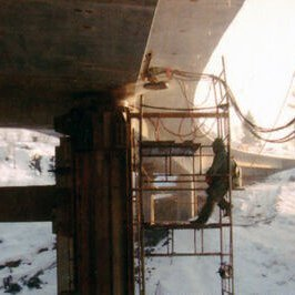Cutting concrete and reinforced concrete - wire saw, diamond cord - Radom